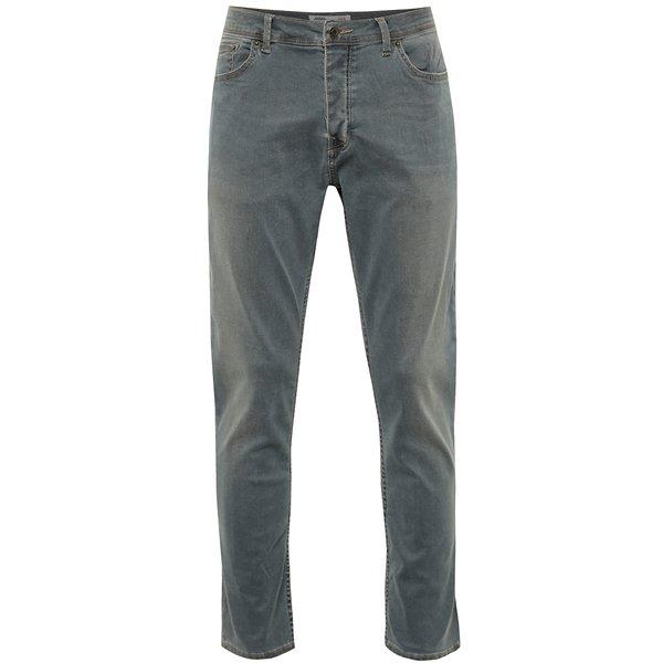 Blugi skinny skinny Burton Menswear London cu aspect ușor prespălat