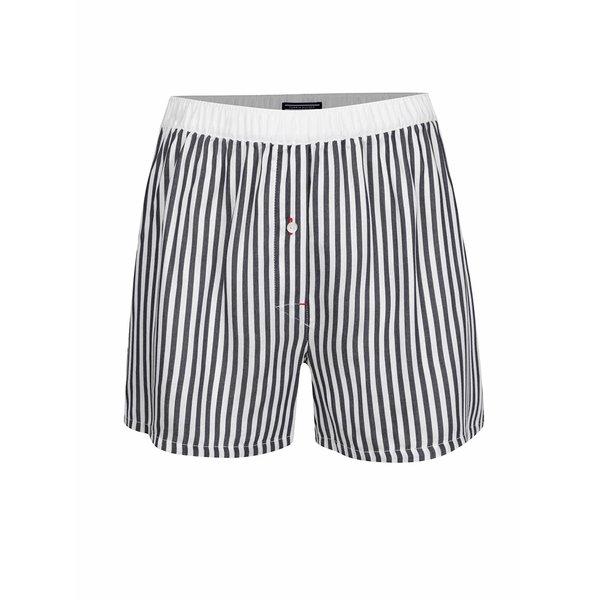 Boxeri cu dungi alb/negru Tommy Hilfiger de la Tommy Hilfiger in categoria Lenjerie intimă, pijamale, costume de baie