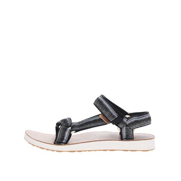 Sandale negru & gri Teva pentru femei de la Teva in categoria sandale
