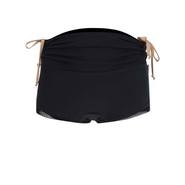 Pantaloni scurți sport negri Mania fitness wear Duchess cu talie înaltă de la Mania fitness wear in categoria Blugi, pantaloni, colanți