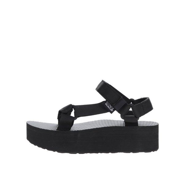 Sandale negre cu platformă Teva pentru femei de la Teva in categoria sandale