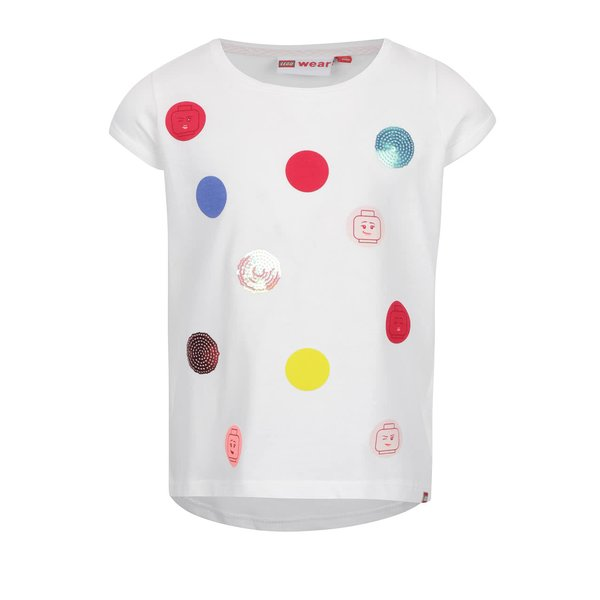 Tricou crem LEGO Wear Tallys cu print de la Lego Wear in categoria Tricouri, camasi