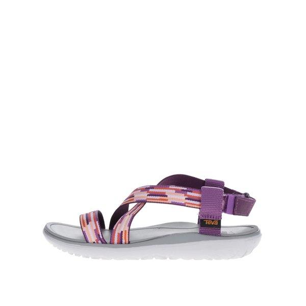 Sandale mov Teva pentru femei de la Teva in categoria sandale