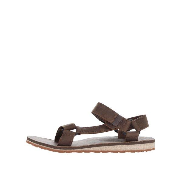 Sandale maro din piele Teva pentru bărbați de la Teva in categoria sandale și șlapi