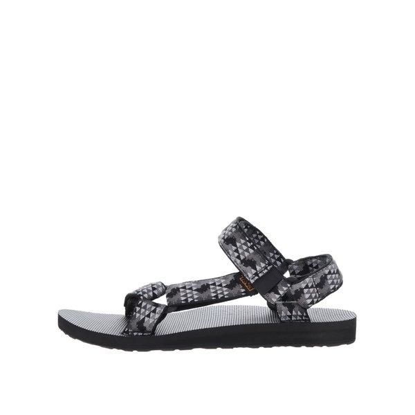 Sandale negru & gri Teva pentru bărbați de la Teva in categoria sandale și șlapi
