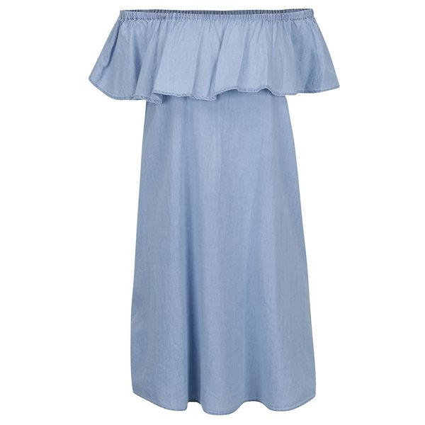 Rochie albastru deschis Haily´s Karina cu decolteu pe umeri
