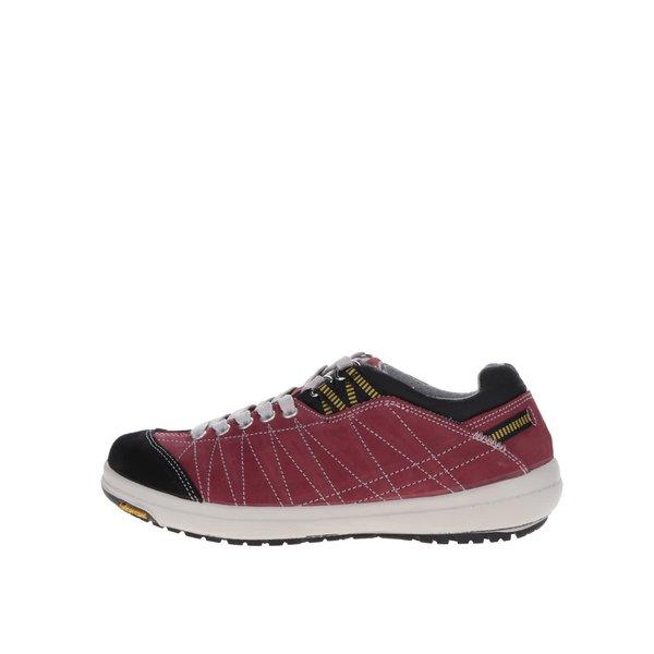 Pantofi sport de damă Weinbrenner roșii din piele întoarsă de la Weinbrenner in categoria pantofi sport și teniși
