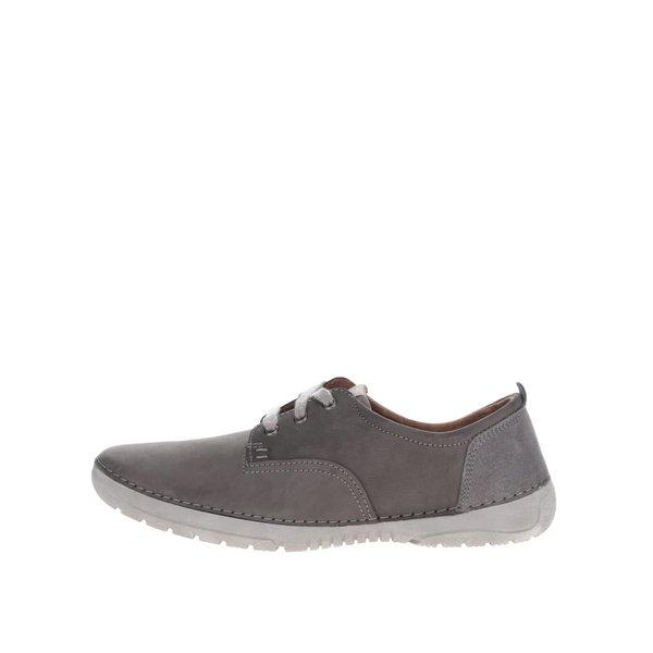 Pantofi casual gri din piele Weinbrenner pentru bărbați de la Weinbrenner in categoria pantofi sport și teniși