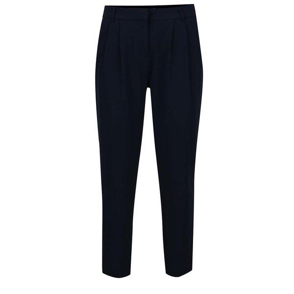Pantaloni bleumarin cu pense decorative VILA Fera