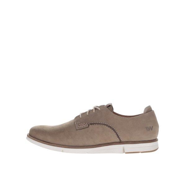 Pantofi bej pentru bărbați Weinbrenner din piele naturală de la Weinbrenner in categoria pantofi și mocasini