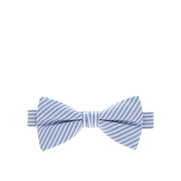 Papion alb & albastru Selected Homme Norman din bumbac de la Selected Homme in categoria Accesorii
