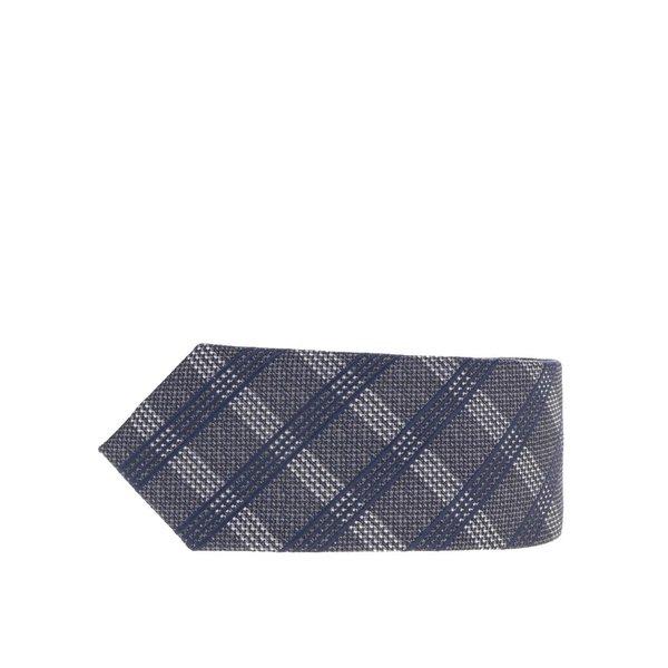 Cravată gri închis Selected Homme Neal cu model în carouri de la Selected Homme in categoria Accesorii