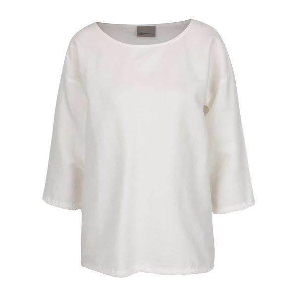Bluză crem VERO MODA New Halie din bumbac
