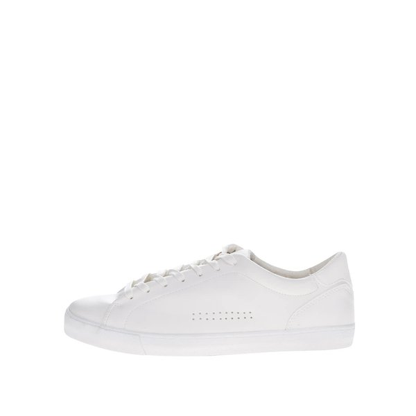 Teniși albi Burton Menswear London de la Burton Menswear London in categoria pantofi sport și teniși