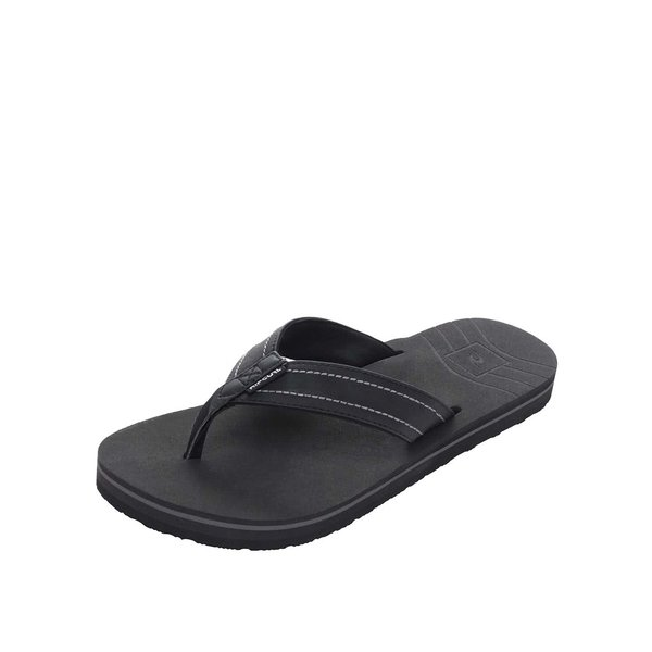 Șlapi negri Rip Curl P-Low pentru bărbați de la Rip Curl in categoria sandale și șlapi