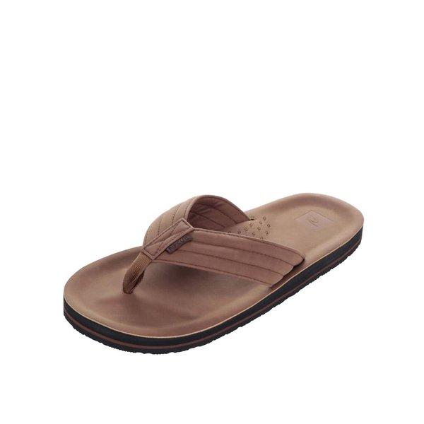 Șlapi maro pentru bărbați Rip Curl Og 4 cu baretă lată de la Rip Curl in categoria sandale și șlapi