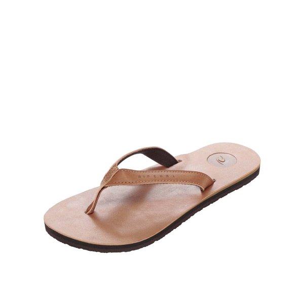 Șlapi maro pentru bărbați Rip Curl Stones de la Rip Curl in categoria sandale și șlapi