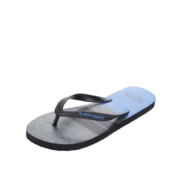 Șlapi bleumarin pentru bărbați Rip Curl Ultimate cu print pe interior de la Rip Curl in categoria sandale și șlapi
