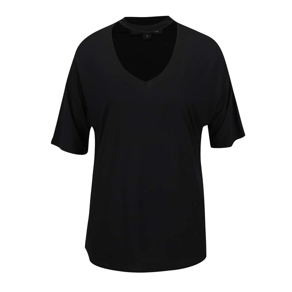 Tricou negru Tally Weijl cu decupaj de la TALLY WEiJL in categoria tricouri