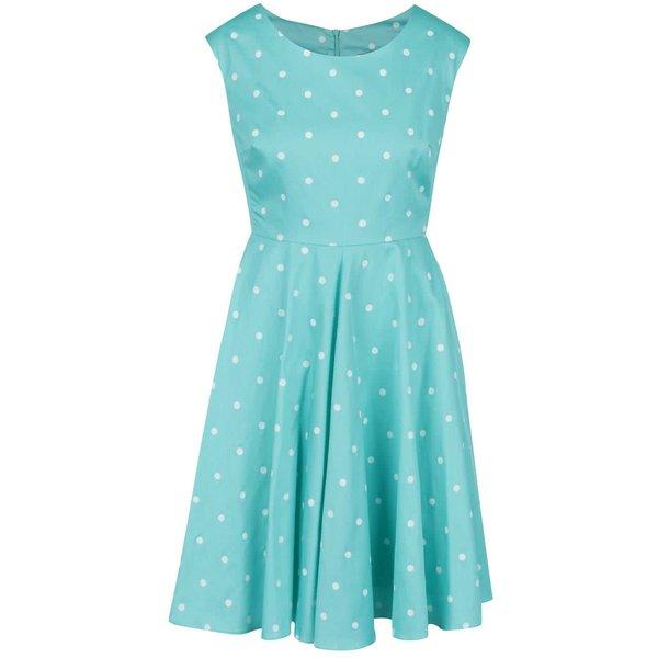 Rochie verde Tom Joule Amelie cu buline de la Tom Joule in categoria rochii de seară