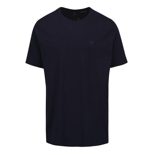 Tricou albastru închis JP 1880 din bumbac cu logo de la JP 1880 in categoria tricouri