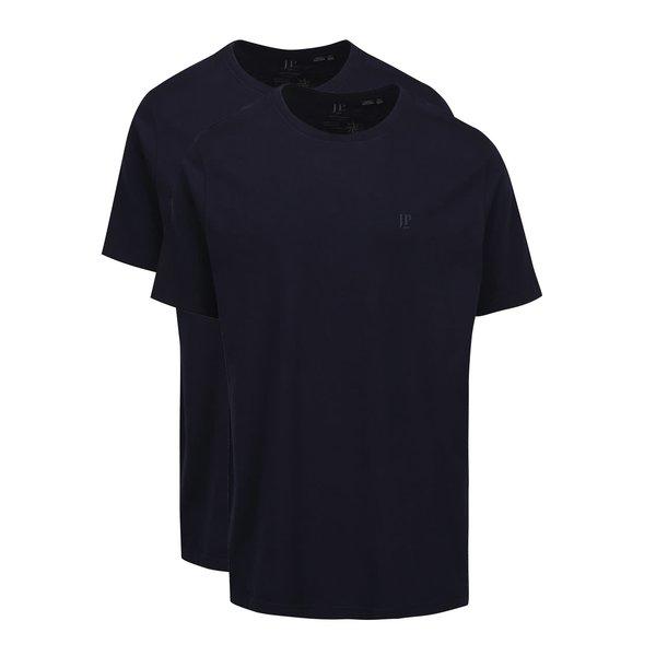 Set de 2 tricouri albastru închis JP 1880 din bumbac cu logo de la JP 1880 in categoria tricouri