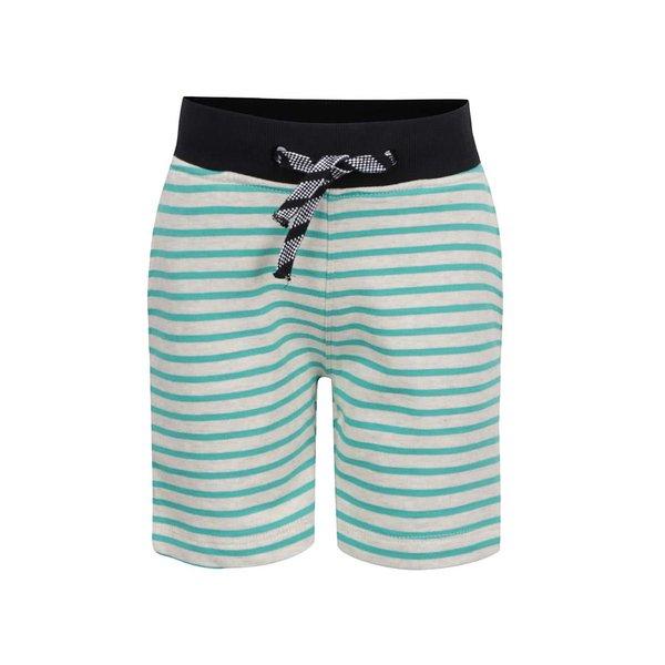 Pantaloni scurți verzi cu dungi name it Kube pentru băieți