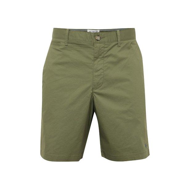 Pantaloni chino scurti kaki cu logo brodat - Original Penguin P55 8