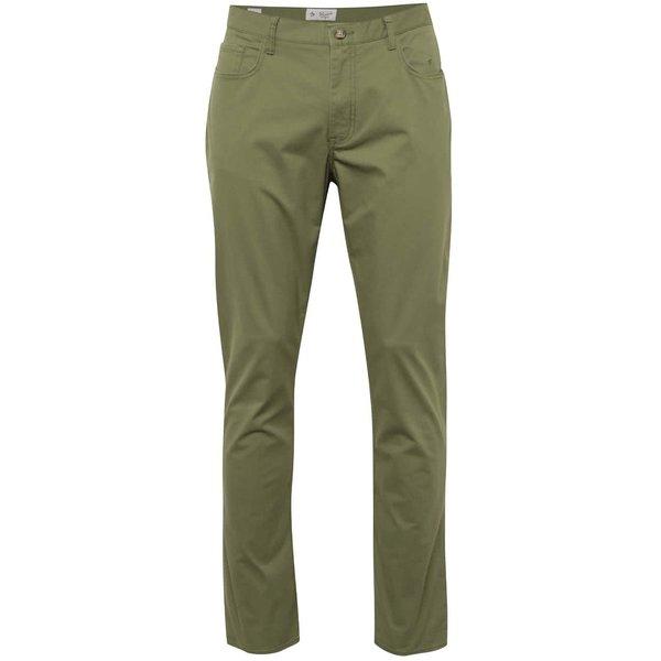 Pantaloni verzi Original Penguin P55 slim fit