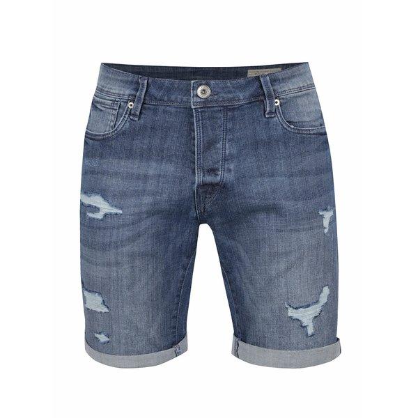 Pantaloni scurți albaștri Selected Homme Alex din denim de la Selected Homme in categoria Blugi, pantaloni, pantaloni scurți