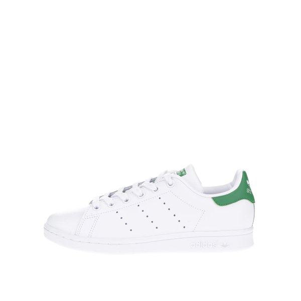 Pantofi sport albi adidas Originals Stan Smith unisex cu detalii verzi de la adidas Originals in categoria pantofi sport și teniși