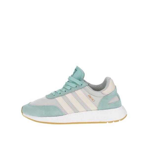 Pantofi sport gri cu verde mentă pentru femei adidas Originals Iniki Runner de la adidas Originals in categoria pantofi sport și teniși