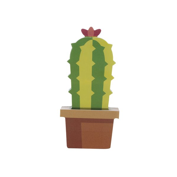 Sticky notes Mustard în formă de cactus