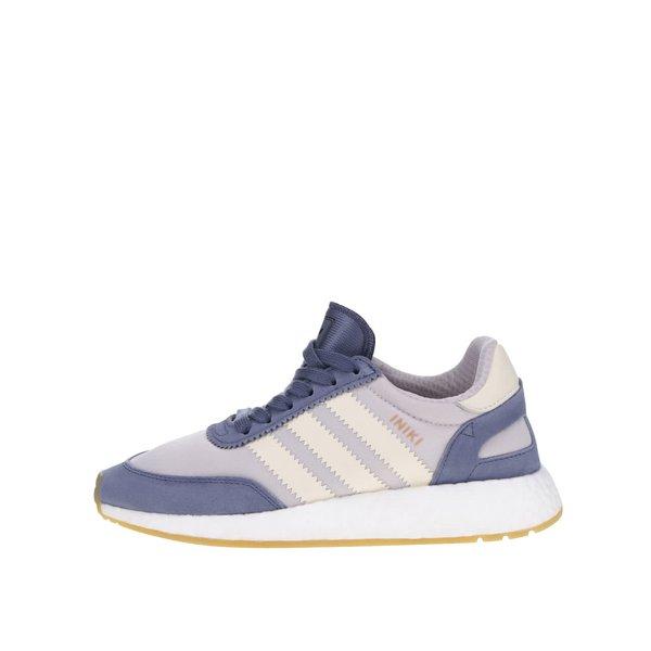 Pantofi sport gri cu violet pentru femei adidas Originals Iniki Runner de la adidas Originals in categoria pantofi sport și teniși