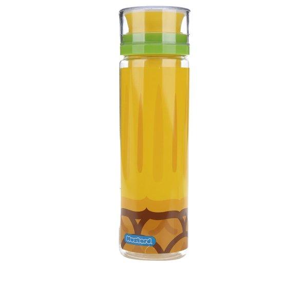 Sticlă galbenă Mustard cu recipient separat pentru fructe 800 ml