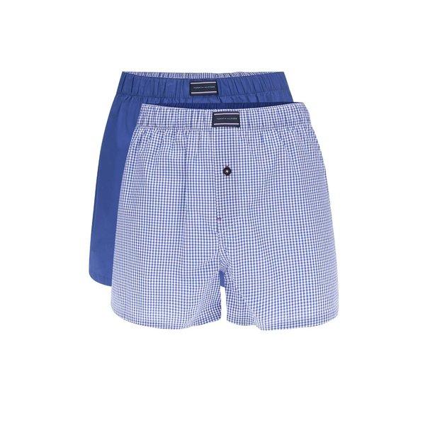 Set 2 boxeri albasri cu print logo Tommy Hilfiger de la Tommy Hilfiger in categoria Lenjerie intimă, pijamale, șorturi de baie
