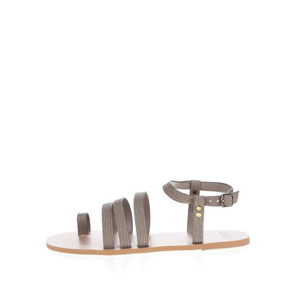 Sandale maro cu bareta pentru degetul mare - Roxy Cory