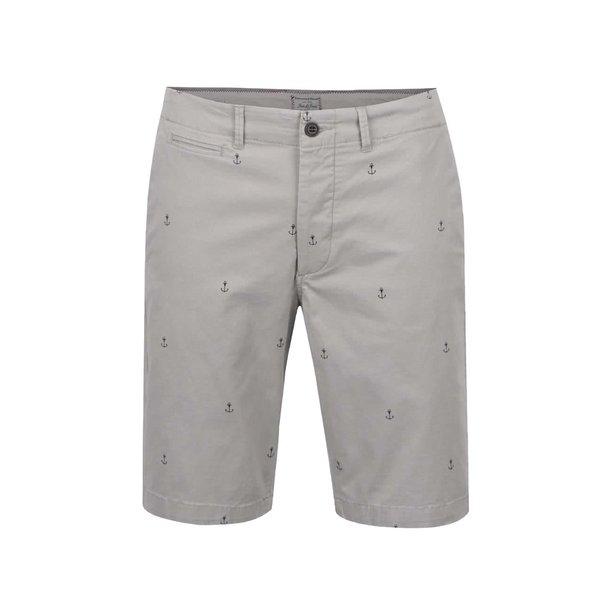 Pantaloni scurți gri Jack&Jones Mini Chino din bumbac de la Jack & Jones in categoria Blugi, pantaloni, pantaloni scurți