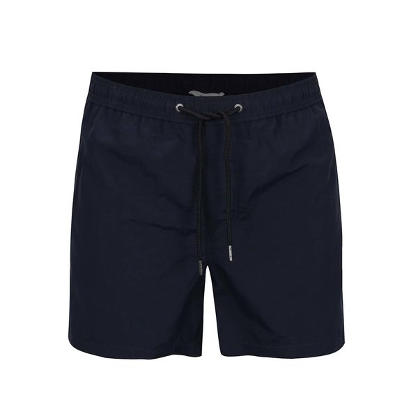 Bermude de baie albastru închis Jack&Jones Sunset cu șnur în talie de la Jack & Jones in categoria Lenjerie intimă, pijamale, șorturi de baie