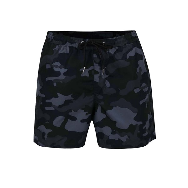 Bermude de baie gri închis Jack & Jones Sunset de la Jack & Jones in categoria Lenjerie intimă, pijamale, șorturi de baie