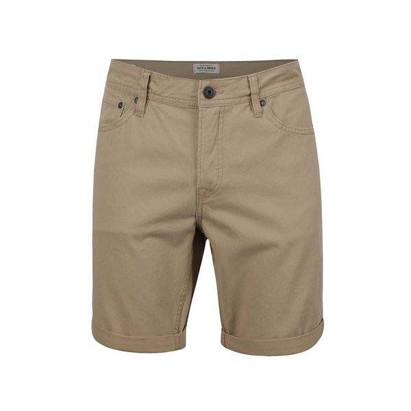 Pantaloni scurți bej Jack & Jones Rick de la Jack & Jones in categoria Blugi, pantaloni, pantaloni scurți