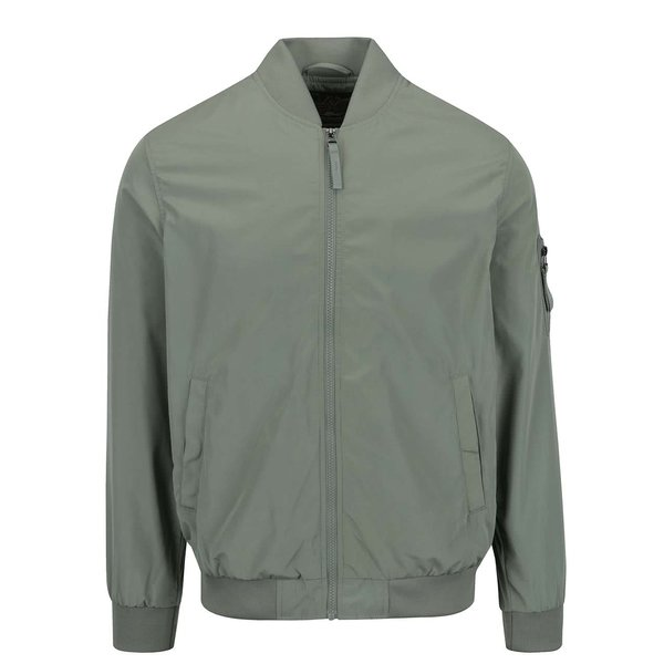 Jachetă bomber verde camuflaj Jack & Jones Will Summer
