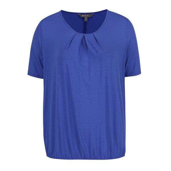 Tricou albastru Ulla Popken cu tiv elastic de la Ulla Popken in categoria Mărimi curvy