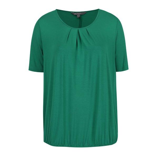 Tricou verde Ulla Popken cu tiv elastic de la Ulla Popken in categoria Mărimi curvy