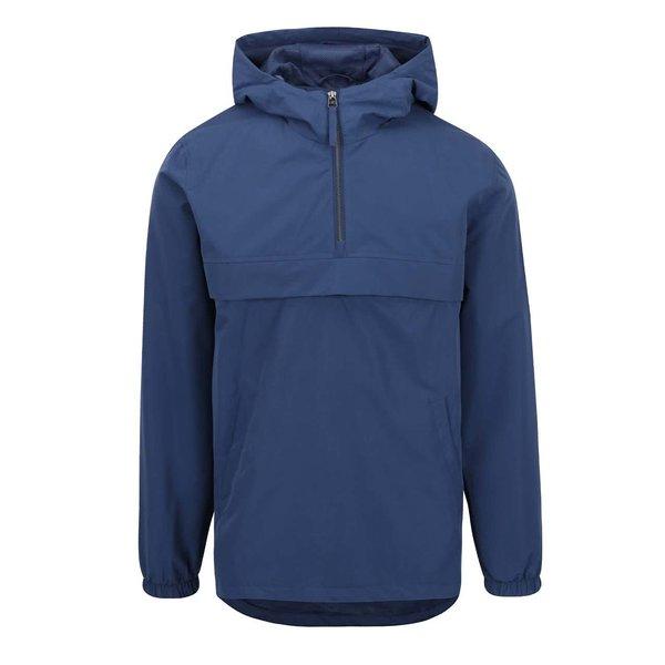 Jachetă albastră subțire Jack & Jones Rowen cu glugă