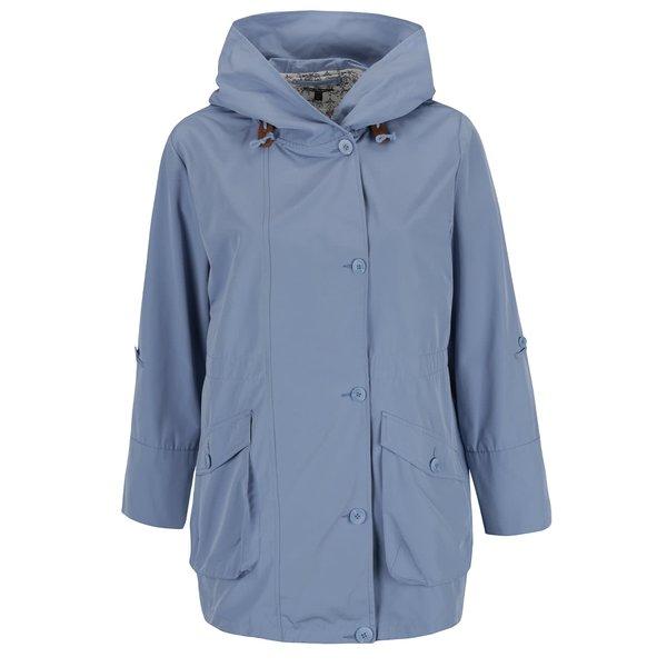 Jachetă albastru deschis Ulla Popken cu glugă