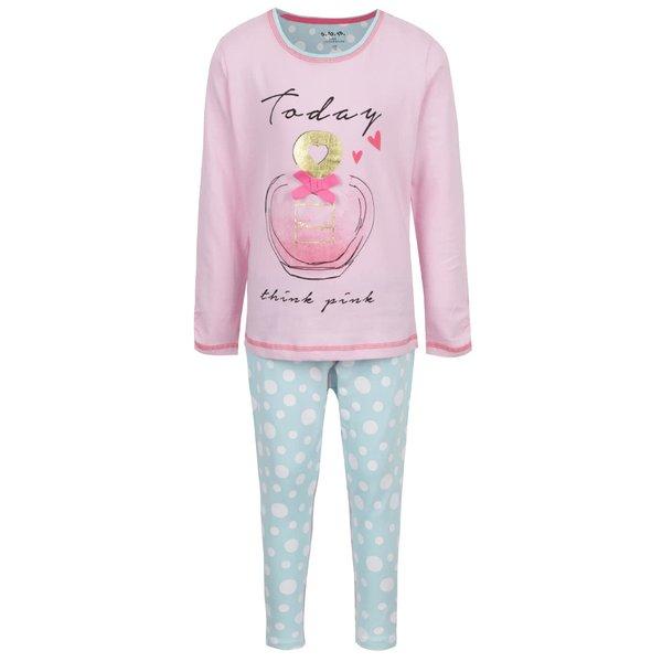 Pijamele roz & albastru 5.10.15. pentru fete