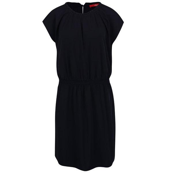 Rochie albastru închis s.Oliver de la s.Oliver in categoria rochii casual