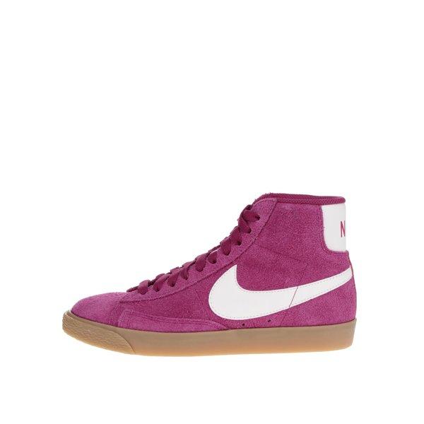 Pantofi sport roz Nike Blazer Mid Suede Vintage de la Nike in categoria pantofi sport și teniși