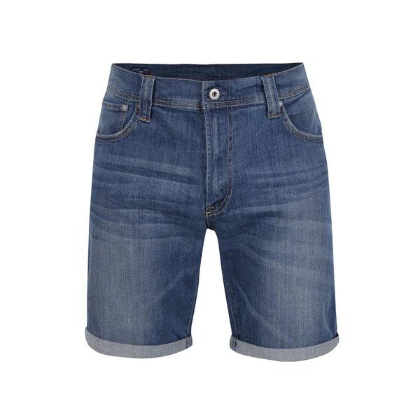 Pantaloni scurți albaștri Pepe Jeans Cane din denim de la Pepe Jeans in categoria Blugi, pantaloni, pantaloni scurți